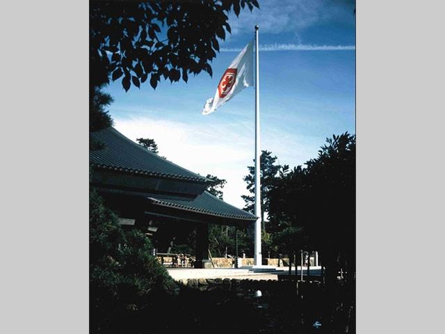 出雲大社国旗掲揚塔